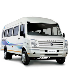 Rent a tempo traveller from the Balaji Travels Varanasi