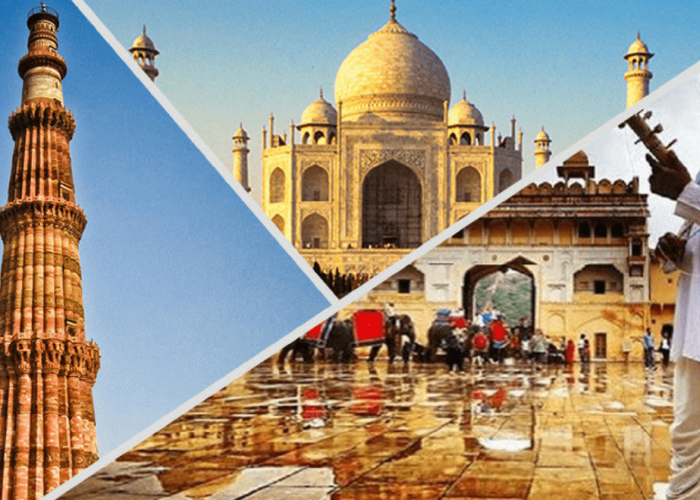 Raj with Taj tour package