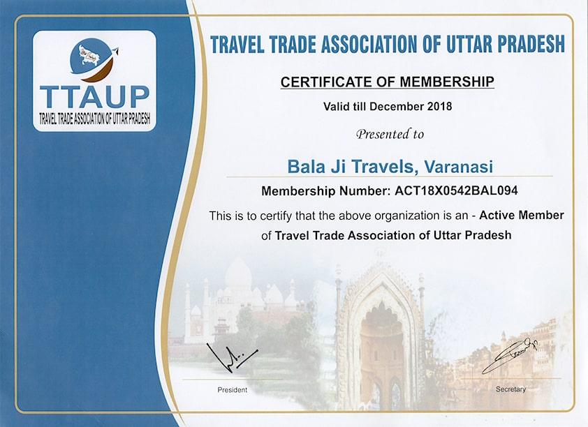 TTAUP certificate membership