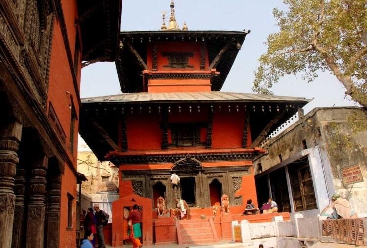 nepali-temple varanasi shri samrajeswar pashupatinath mahadev mandir